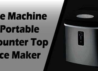 Ice Machine Portable Counter Top Ice Maker