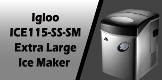 Igloo ICE115-SS-SM Extra Large Ice Maker