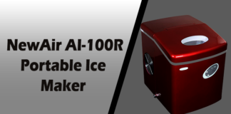 NewAir AI-100R 28-Pound Portable Ice Maker