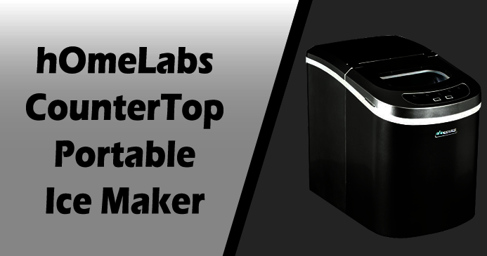 hOmeLabs Portable Ice Maker Machine for Counter Top