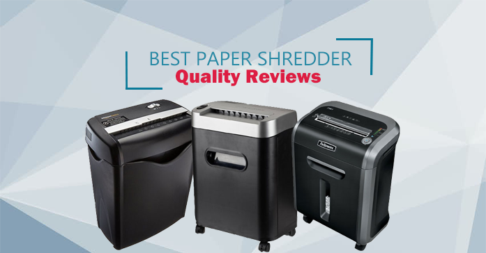 Best personal paper shredder reviews